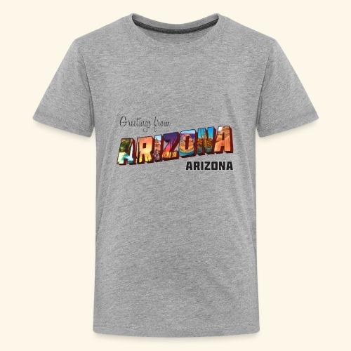 Greetings from Arizona - Kids' Premium T-Shirt