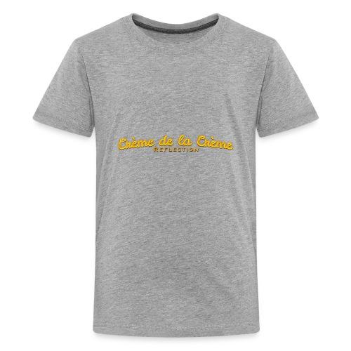 cr--me_de_la_cr--me_logo - Kids' Premium T-Shirt