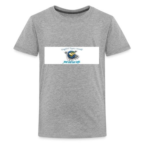 English Topics World - Kids' Premium T-Shirt
