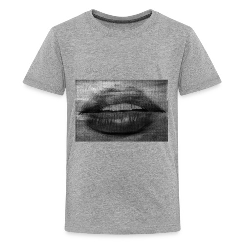Blurry Lips - Kids' Premium T-Shirt