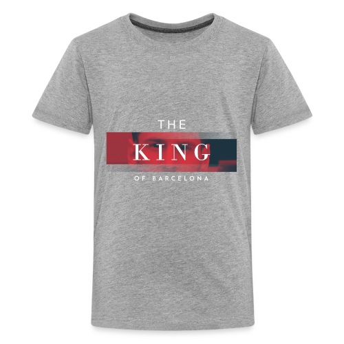 /Leo Messi King Desgn/ - Kids' Premium T-Shirt