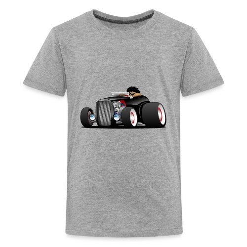 Classic Street Rod Hi Boy Roadster Cartoon - Kids' Premium T-Shirt