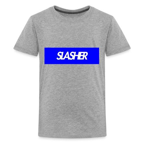 Slasher Supreme Box Logo V2 - Kids' Premium T-Shirt