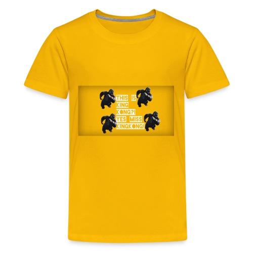 KINGKONG! - Kids' Premium T-Shirt