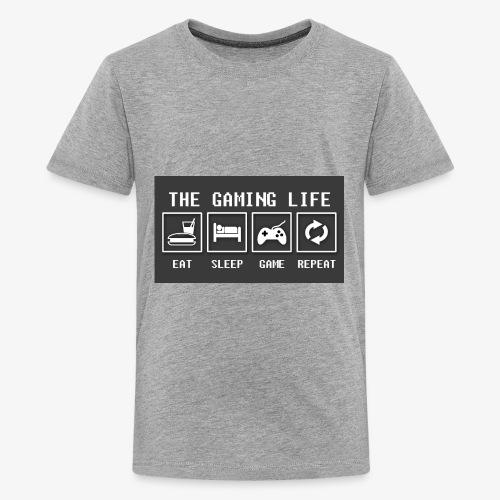 Gaming is life - Kids' Premium T-Shirt