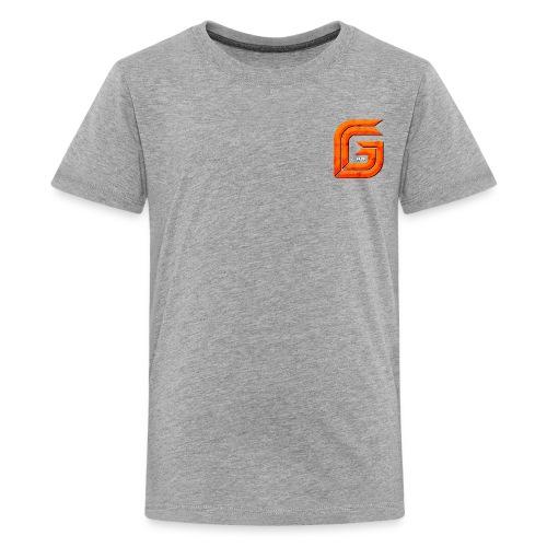 Classic Small GG Lad Logo - Kids' Premium T-Shirt