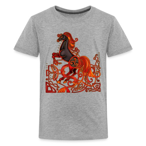 Celtic Horse Night Mare - Kids' Premium T-Shirt