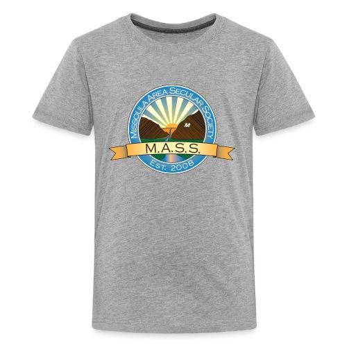 Missoula Area Secular Society Logo - Kids' Premium T-Shirt