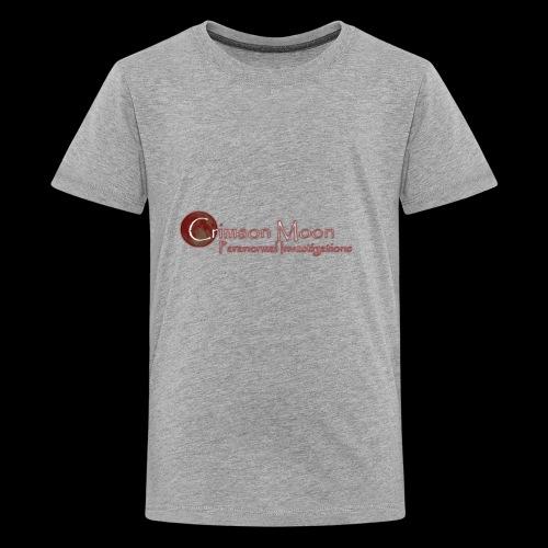 Crimson Moon PI - Kids' Premium T-Shirt