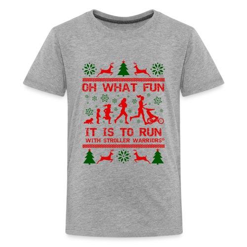 Oh What Fun - Kids' Premium T-Shirt