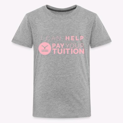 Light Pink PYT Logo - Kids' Premium T-Shirt