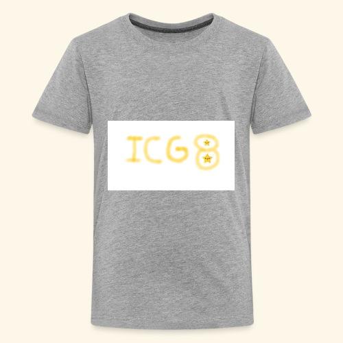 ICG8 with Paint - Kids' Premium T-Shirt