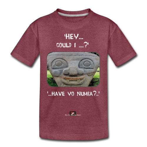 The Hey Could I have Yo Number Alien - Kids' Premium T-Shirt