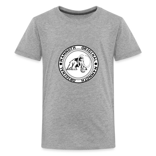 Mammoth Original Standard Logo - Kids' Premium T-Shirt