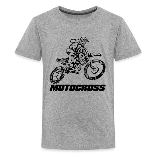 Motocross Logo Black - Kids' Premium T-Shirt