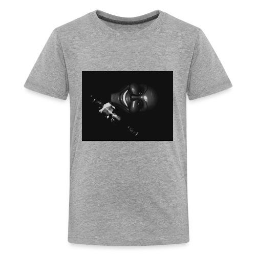 black and white shoot - Kids' Premium T-Shirt