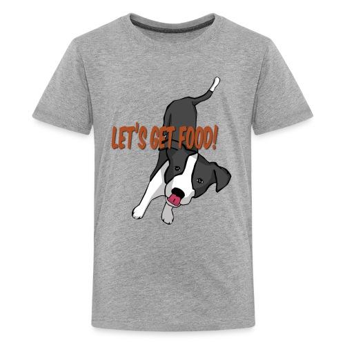 Foodie Dog Border Collie - Kids' Premium T-Shirt