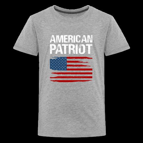 Patriotic American - Kids' Premium T-Shirt