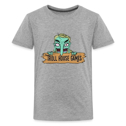 Troll House Games Cartoon Logo - Kids' Premium T-Shirt