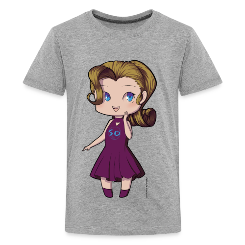 Anime Chibi Girl - Kids' Premium T-Shirt