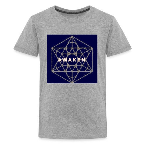 Awaken - Sacred Geometry - Kids' Premium T-Shirt