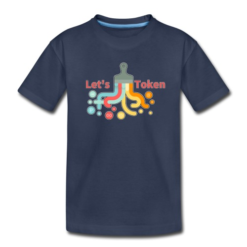 Let's Token by Glen Hendriks - Kids' Premium T-Shirt