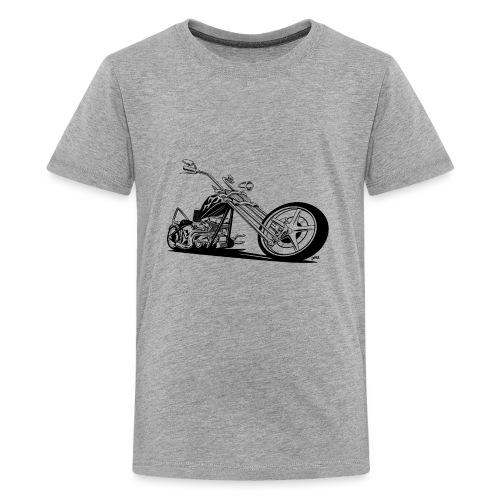 Custom American Chopper Motorcycle - Kids' Premium T-Shirt
