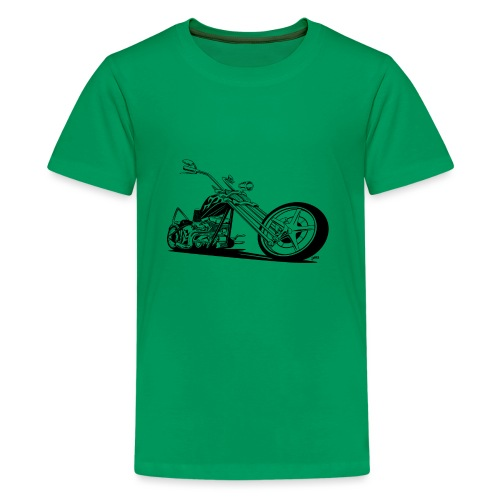 Custom American Chopper Motorcycle - Kids' Premium T-Shirt
