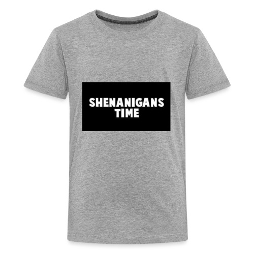 SHENANIGANS TIME MERCH - Kids' Premium T-Shirt