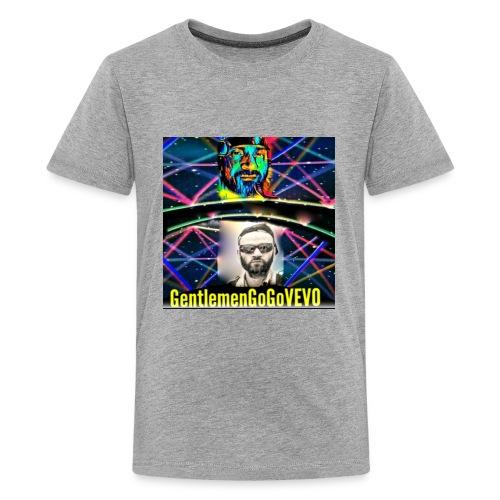 gentlemengogovevo t-shirt ( space travel ) - Kids' Premium T-Shirt