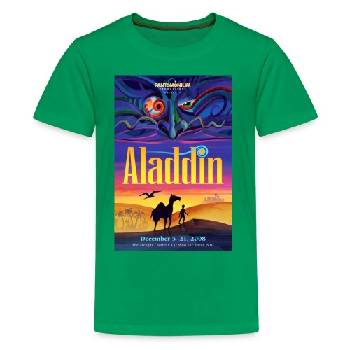 aladdin poster shirt - Kids' Premium T-Shirt