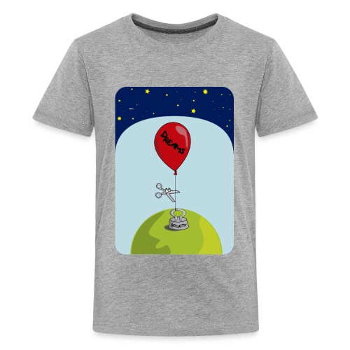 dreams balloon and society 2018 - Kids' Premium T-Shirt