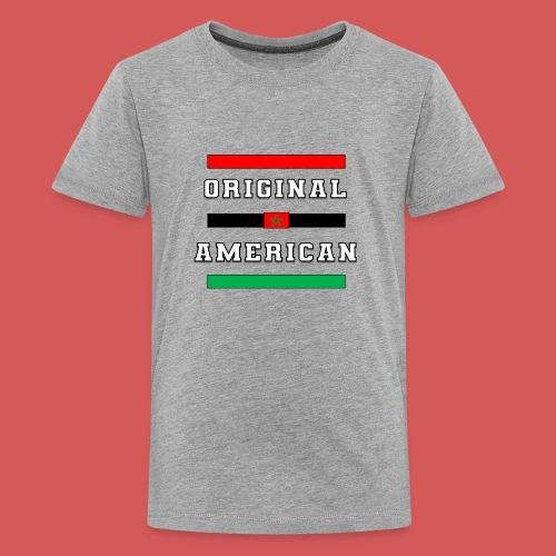Original American Bars Moorish American Flag - Kids' Premium T-Shirt