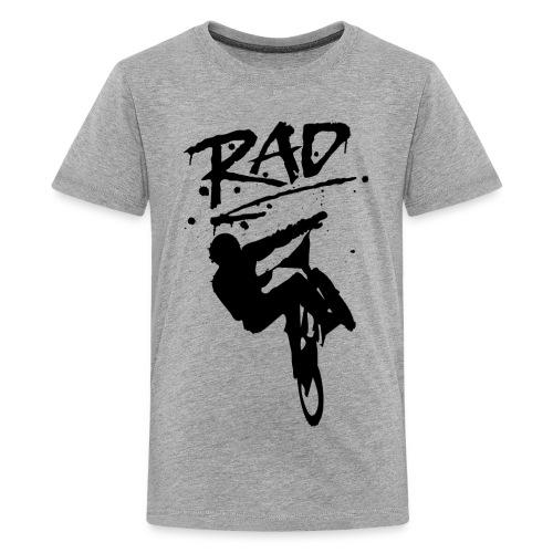 RAD BMX Bike Graffiti 80s Movie Radical Shirts - Kids' Premium T-Shirt