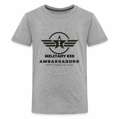 Military Kid Ambassador - Kids' Premium T-Shirt