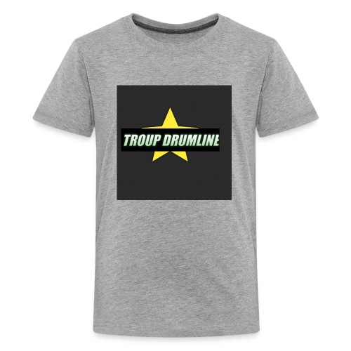 TROUP DRUMLINE MERCH - Kids' Premium T-Shirt