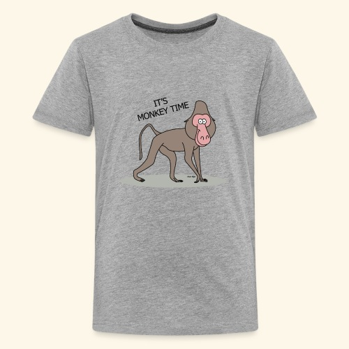 It's Monkey Time - Kids' Premium T-Shirt