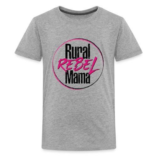 Rural Rebel Mama Logo - Kids' Premium T-Shirt