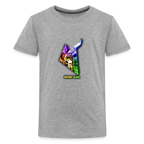 GhosT Clan Abstract Rainbow - Kids' Premium T-Shirt