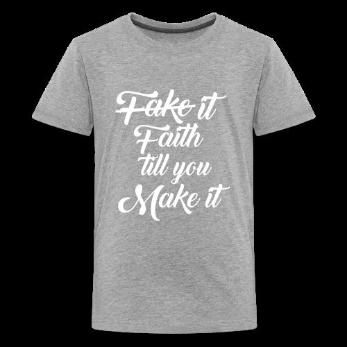 Faith Design - Kids' Premium T-Shirt