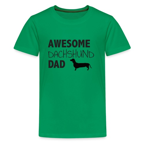 Awesome Dachshund Dad - Kids' Premium T-Shirt