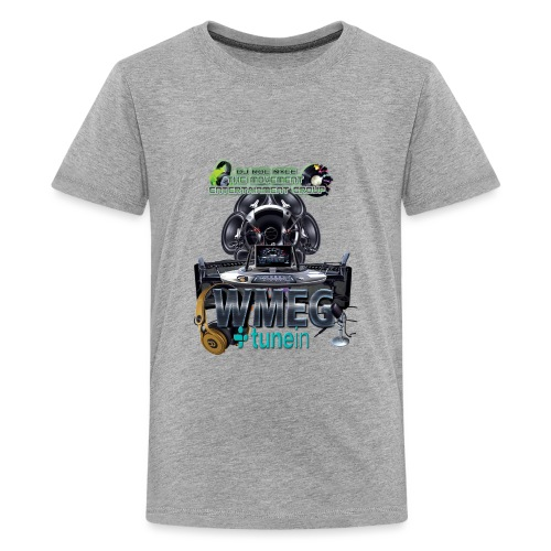 WMEG internet Radio logo - Kids' Premium T-Shirt