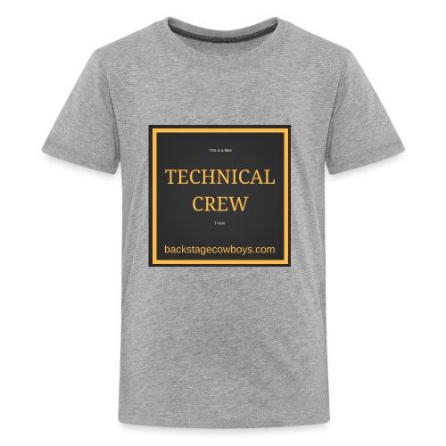 FAKE TECHNICAL CREW - Kids' Premium T-Shirt