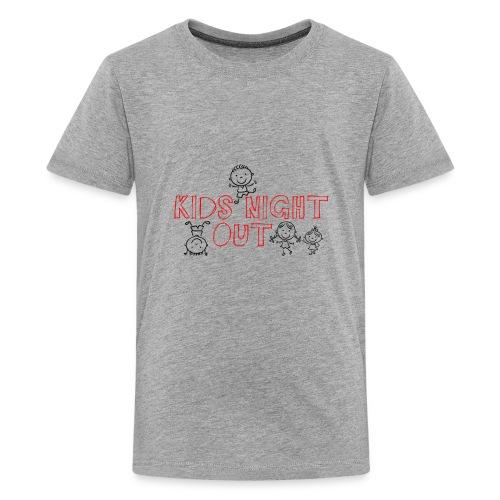 Kids Night Out Redone - Kids' Premium T-Shirt