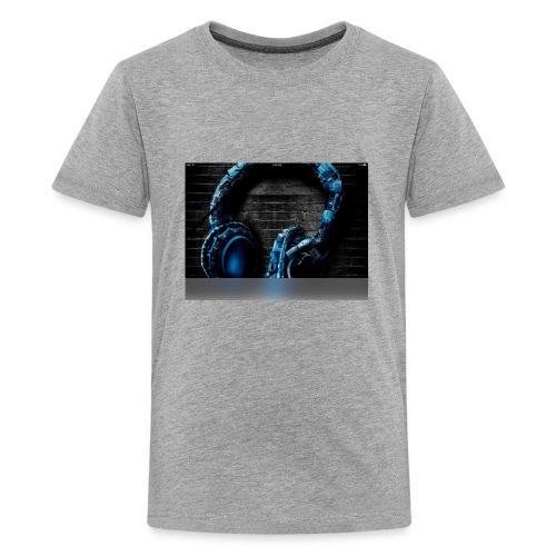 Headphonesm - Kids' Premium T-Shirt