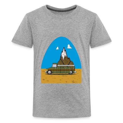 faith moves mountains 2018 - Kids' Premium T-Shirt