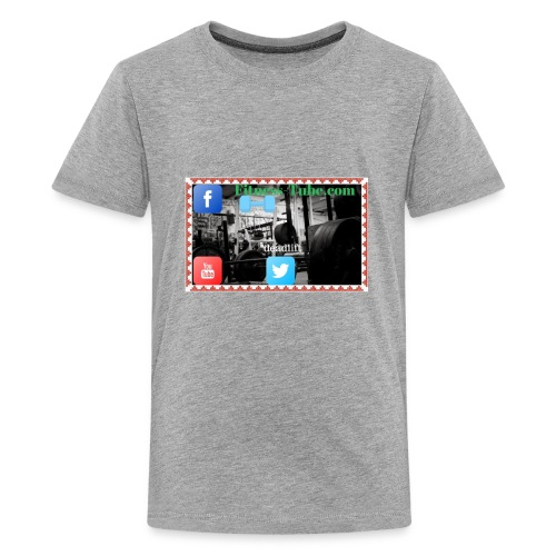 gym199 1 - Kids' Premium T-Shirt