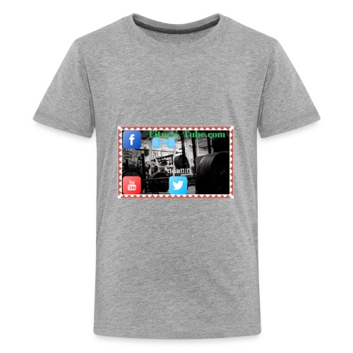 gym199 1 - Kids' Premium T-Shirt