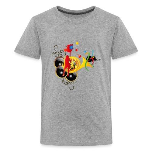 sound system - Kids' Premium T-Shirt