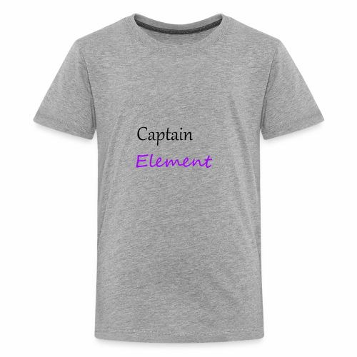 Captain Element Logo 2 - Kids' Premium T-Shirt